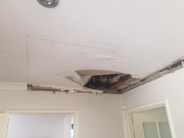 Water Damaged Ceiling Repair Roof Repairs Perth